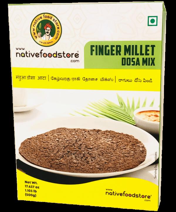 Native Food Store Finger Millet Dosa Mix - Asijah Europe