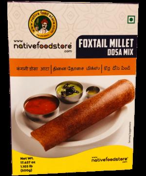 Native Food Store Foxtail Millet Dosa Mix - Asijah Europe
