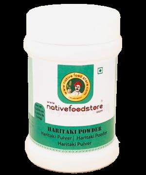 Native Food Store Haritaki Powder - Asijah Europe