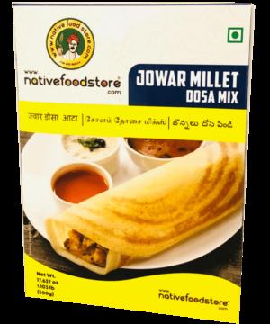 Native Food Store Jowar Millet Dosa Mix - Asijah Europe