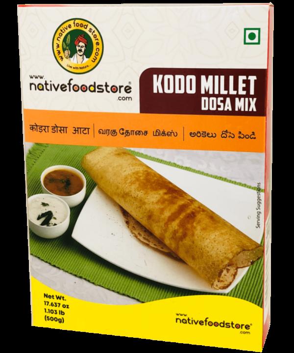 Native Food Store Kodo Millet Dosa Mix - Asijah Europe