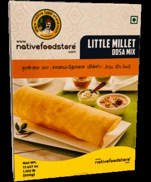 Native Food Store Little Millet Dosa Mix - Asijah Europe