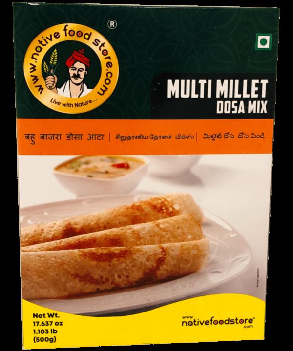 Native Food Store Multi Millet Dosa Mix - Asijah Europe