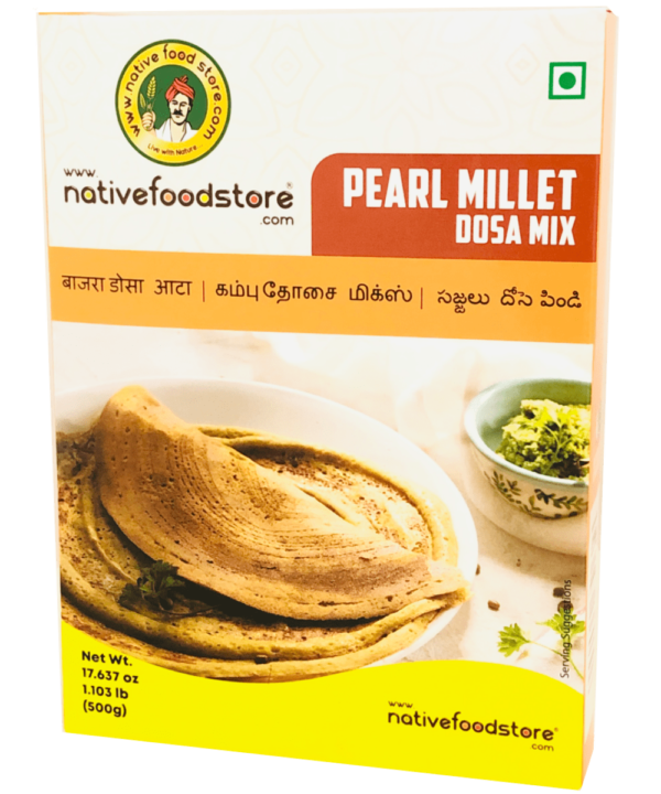 Native Food Store Pearl Millet Dosa Mix - Asijah Europe