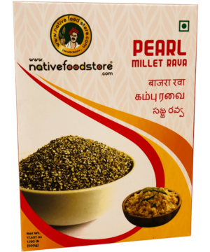 Native Food Store Pearl Millet Rava - Asijah Europe