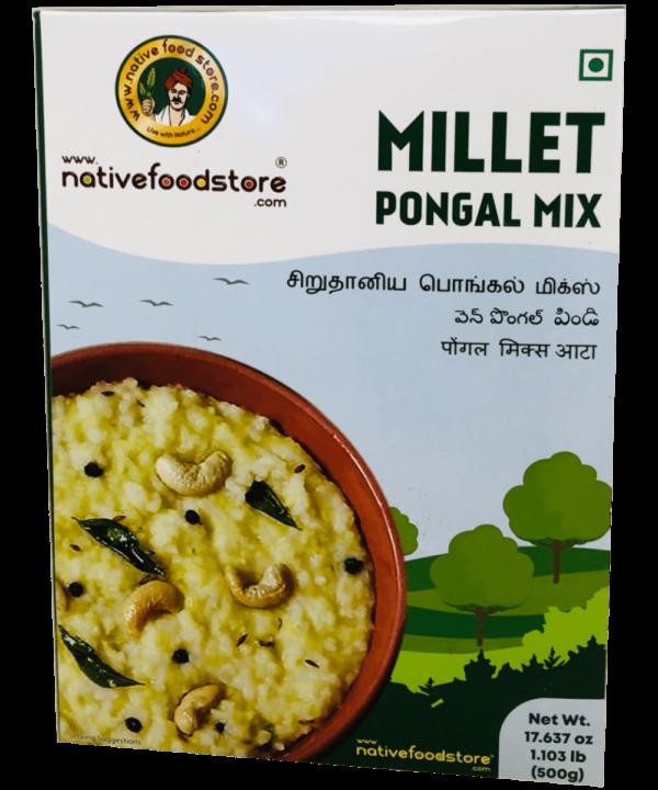 Native Food Store Millet Pongal Mix - Asijah Europe