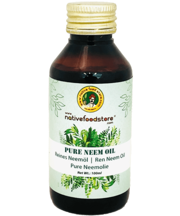 Native Food Store Pure Neem Oil - Asijah Europe