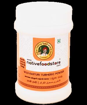 Native Food Store Wild Kasturi Turmeric Powder - Asijah Europe