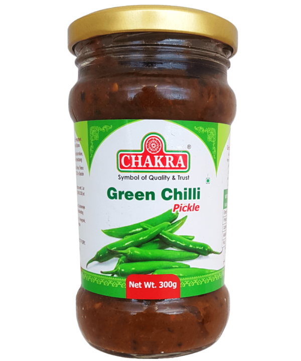 Chakra Green Chilli Pickle - Asijah Europe