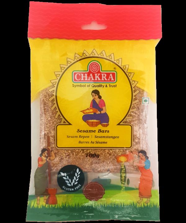 Chakra Sesame Bars - Asijah Europe