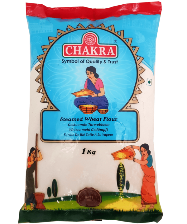 Chakra Steamed Wheat Flour - Asijah Europe