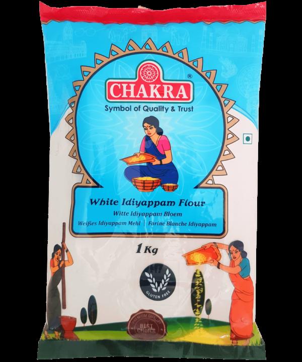 Chakra White Idiyappam Flour - Asijah Europe