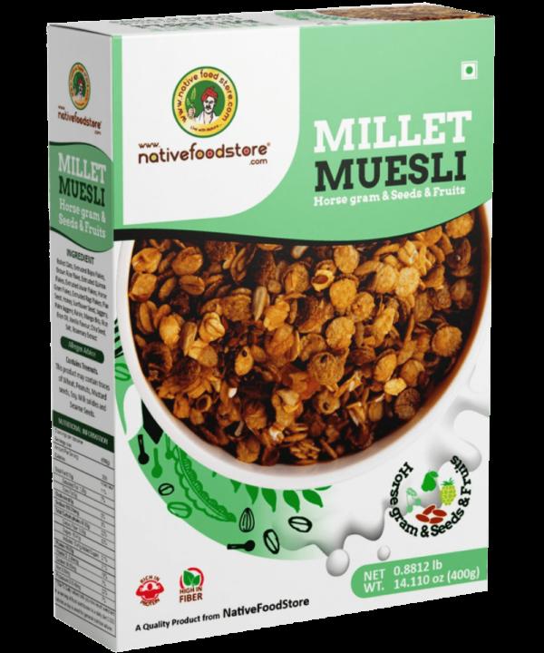 Native Food Store Millet Muesli - Asijah Europe