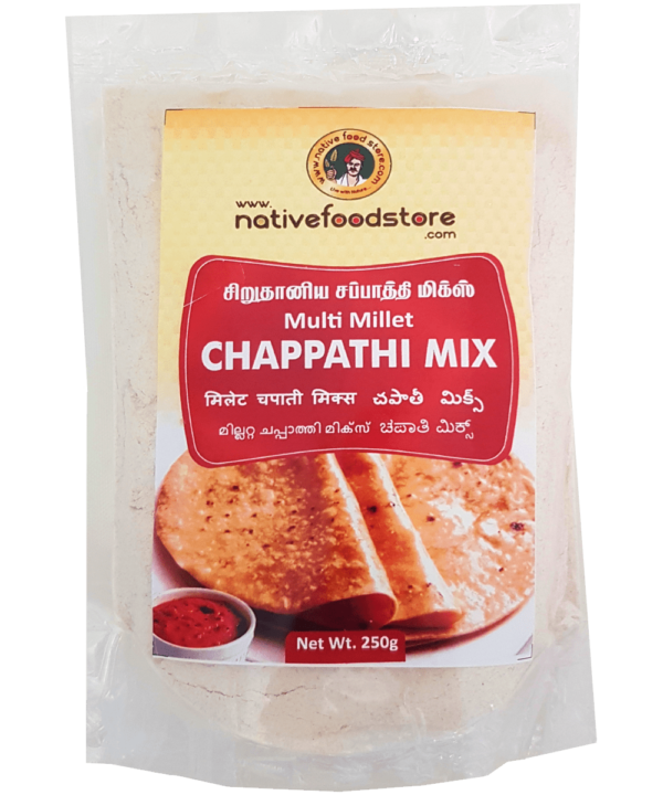 Native Food Store Multi Millet Chappathi Mix - Asijah Europe