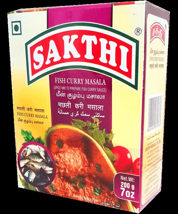 Sakthi Fish Curry Masala - Asijah Europe
